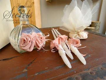Εικόνα του Λαδοσέτ βάπτισης με θέμα λουλούδια