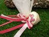 Εικόνα με Μπομπονιέρες βάπτισης κορίτσι σβούρες