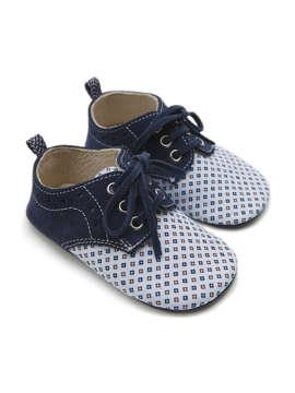 Εικόνα του BENOIT ΜΠΛΕ βαπτιστικά παπούτσια αγόρι