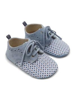 Εικόνα του BENOIT ΓΑΛΑΖΙΟ βαπτιστικά παπούτσια αγόρι