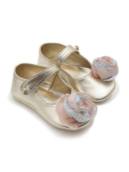 Εικόνα με DALIDA βαπτιστικά παπούτσια κορίτσι