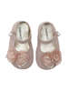 Εικόνα με VALERIA ΡΟΖ βαπτιστικά παπούτσια κορίτσι
