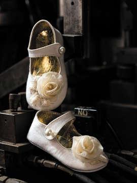 Εικόνα του VALERIA ΛΕΥΚΟ βαπτιστικά παπούτσια κορίτσι