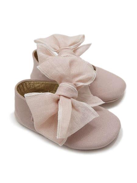 Εικόνα με EMILLY ΡΟΖ βαπτιστικά παπούτσια κορίτσι