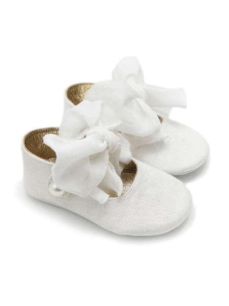 Εικόνα με EMILLY ΛΕΥΚΟ βαπτιστικά παπούτσια κορίτσι