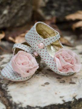 Εικόνα του ANNIE GREEN βαπτιστικά παπούτσια κορίτσι