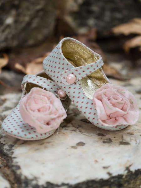 Εικόνα με ANNIE GREEN βαπτιστικά παπούτσια κορίτσι