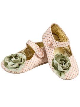 Εικόνα του ANNIE PINK βαπτιστικά παπούτσια κορίτσι