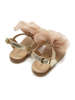 Εικόνα με LEONI GOLD PINK βαπτιστικά πέδιλα κορίτσι
