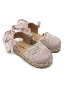 Εικόνα του CARMEN PINK βαπτιστικά παπούτσια κορίτσι