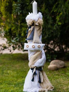 Εικόνα του Designer's Cat BRUNO λαμπάδα