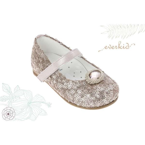 Εικόνα με Παπούτσια δερμάτινα Everkid 6054