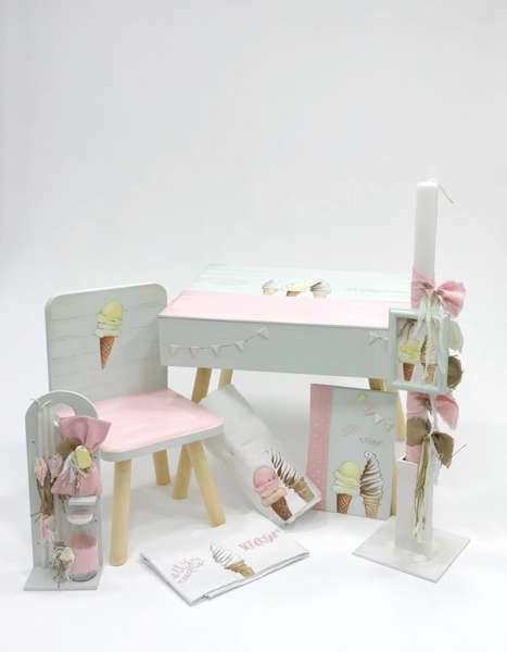 Εικόνα με ALL YOU NEED IS ICE CREAM DESK