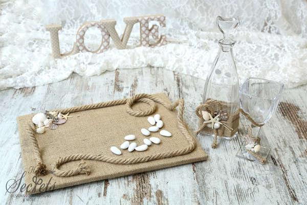 Εικόνα με Σετ γάμου με θέμα θαλασσινό