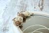 Εικόνα με Σετ γάμου vintage καφέ εκρού