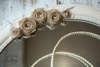 Εικόνα με Σετ γάμου vintage καφέ λουλούδια