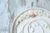 Εικόνα με Σετ γάμου vintage εκρού σομόν