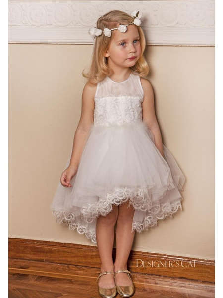 Εικόνα με ANDROMEDA IVORY βαπτιστικό φόρεμα