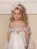 Εικόνα με SNOW WHITE βαπτιστικό φόρεμα