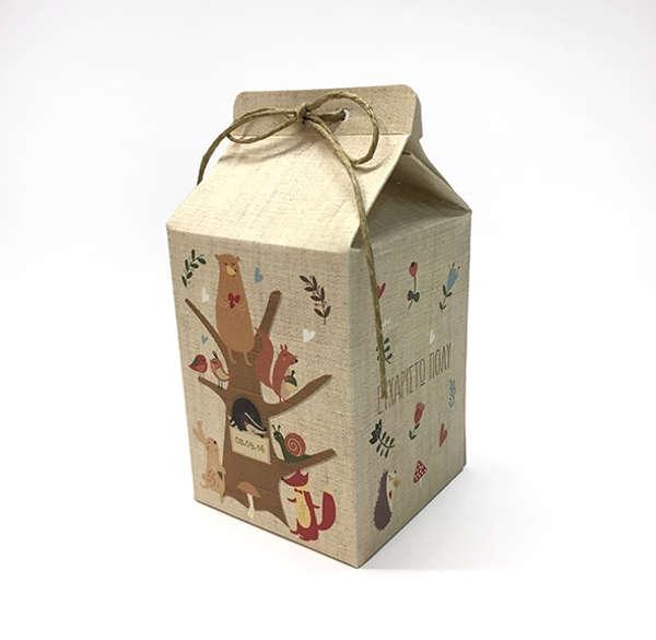 Εικόνα με Μπομπονιέρα Lavly Χάρτινο Κουτί