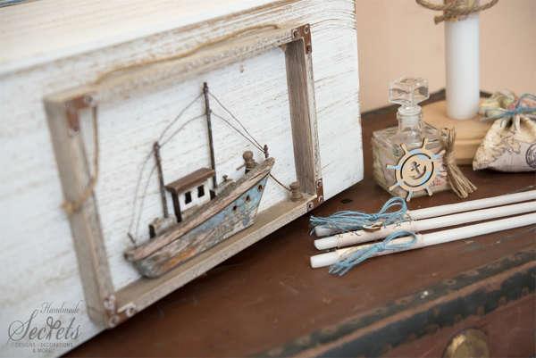 Εικόνα με Πακέτο βάπτισης με καράβι