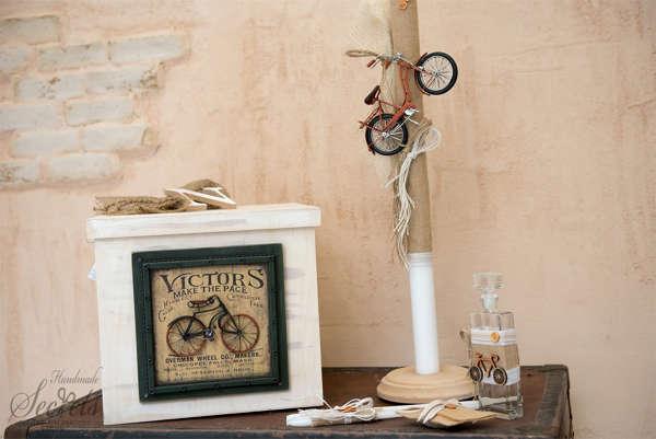Εικόνα με Πακέτο βάπτισης vintage ποδήλατο