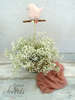 Εικόνα με Διακοσμητικό βάπτισης πουλάκι κανέλα