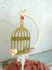 Εικόνα με Διακοσμητικό βάπτισης ξύλινο κλουβί