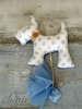 Εικόνα με Χειροποίητες μπομπονιέρες βάπτισης σκυλάκι