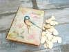 Εικόνα με Ξύλινο κουτί ευχών πουλάκι