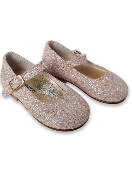 Εικόνα με ANDROMEDA PINK βαπτιστικά παπούτσια