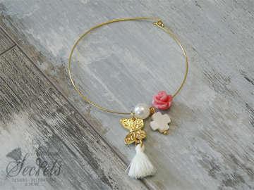 Εικόνα του Μαρτυρικό βραχιόλι πεταλούδα λουλούδι