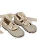 Εικόνα με SWAN IVORY βαπτιστικά παπούτσια