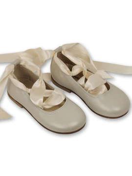 Εικόνα του SWAN IVORY βαπτιστικά παπούτσια