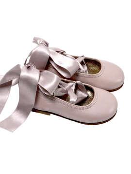 Εικόνα του SWAN PINK βαπτιστικά παπούτσια