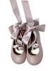 Εικόνα με SWAN PINK βαπτιστικά παπούτσια