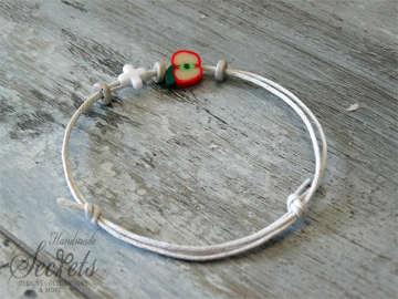 Εικόνα του Μαρτυρικό βραχιόλι μήλο κορίτσι