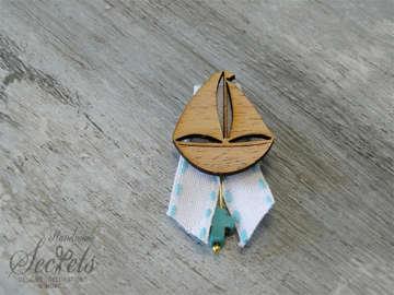 Εικόνα του Μαρτυρικό πέτου ξύλινο καραβάκι