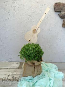 Εικόνα του Διακοσμητικό βάπτισης κιθάρα