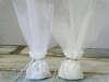 Εικόνα με Μπομπονιέρα γάμου δαντέλα πουγκί