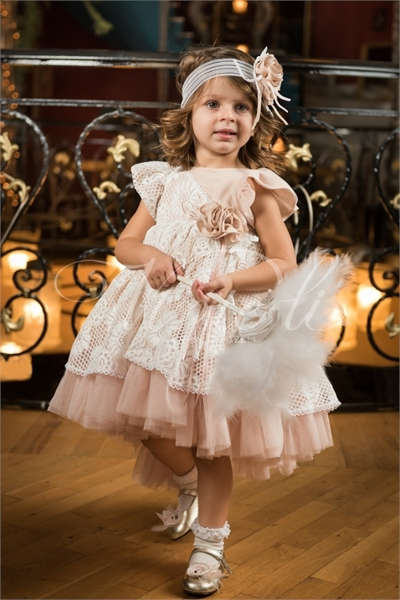 Εικόνα με Vinte Li Φόρεμα Βάπτισης 4604