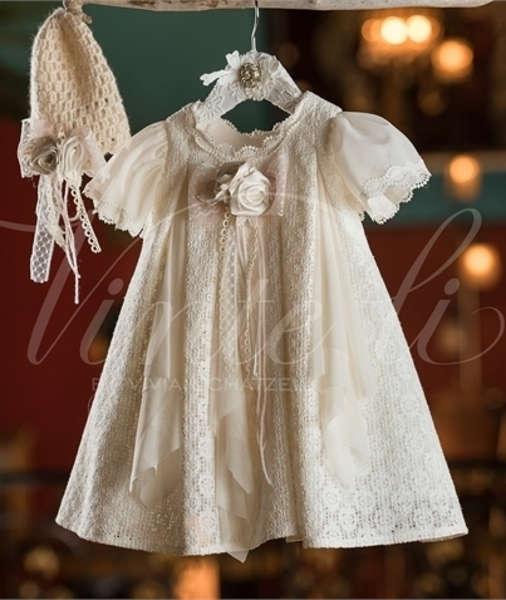 Εικόνα με Vinte Li Φόρεμα Βάπτισης 4609