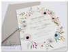 Εικόνα με Προσκλητήριο γάμου λουλούδια