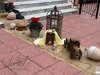 Εικόνα με Στολισμός βάπτισης vintage ξύλινα παιχνίδια