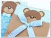 Εικόνα με Προσκλητήριο βάπτισης αρκουδάκι