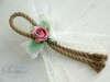 Εικόνα με Μπομπονιέρα τριαντάφυλλο