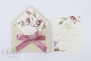 Εικόνα του Προσκλητήριο γάμου ρομαντικό