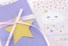 Εικόνα με Προσκλητήριο βάπτισης αστεράκια