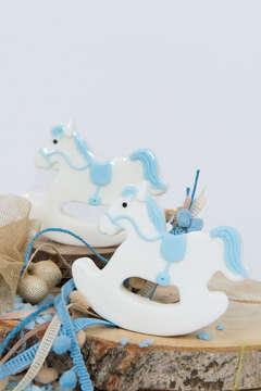 Εικόνα του Μπομπονιέρα σαπουνάκι αλογάκι