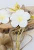 Εικόνα με Μπομπονιέρα σαπουνάκι πλουμέρια